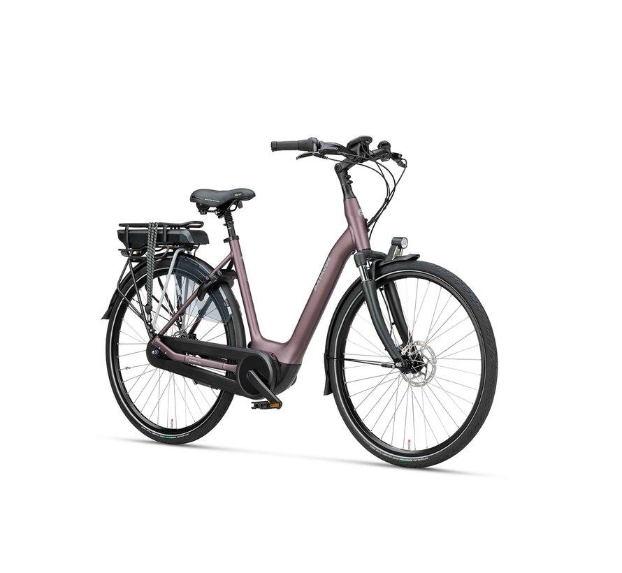 Finez E-go elektrische fiets 7V Sangria Mat - Active Plus