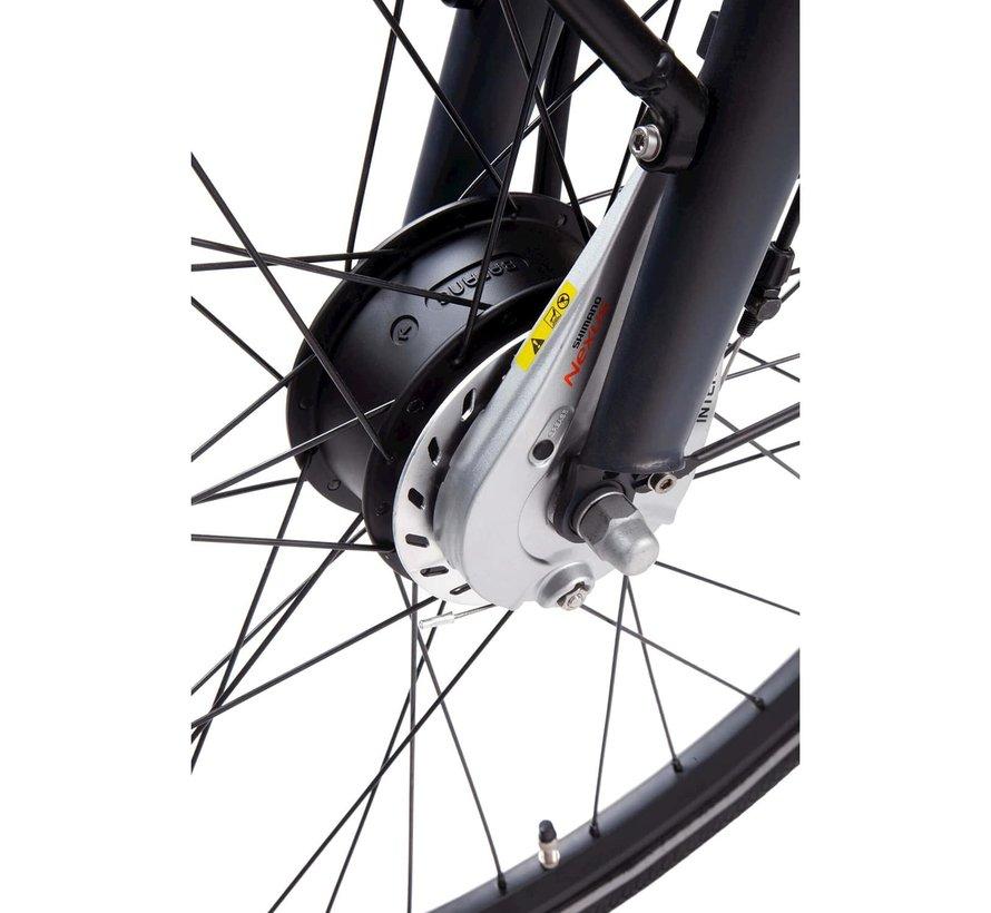 e-Common elektrische fiets 8V Black Blue Matt