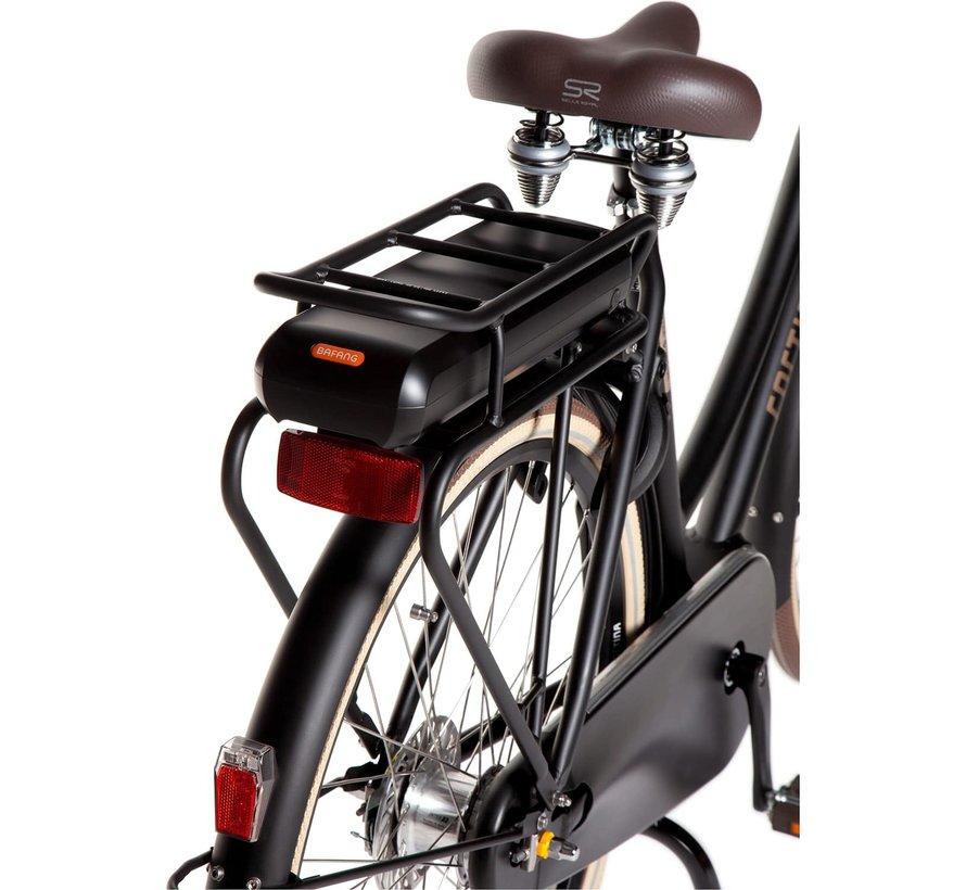 E-U4 elektrische fiets 8V Jet Black Matt