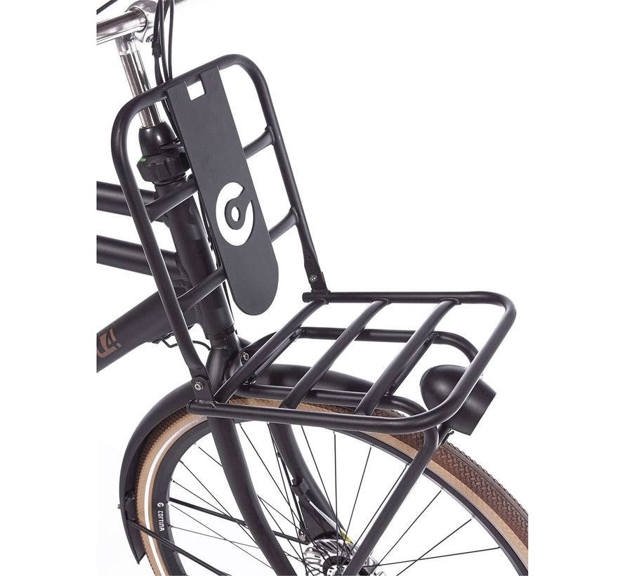 E-U4 elektrische fiets 7V Mat Zwart