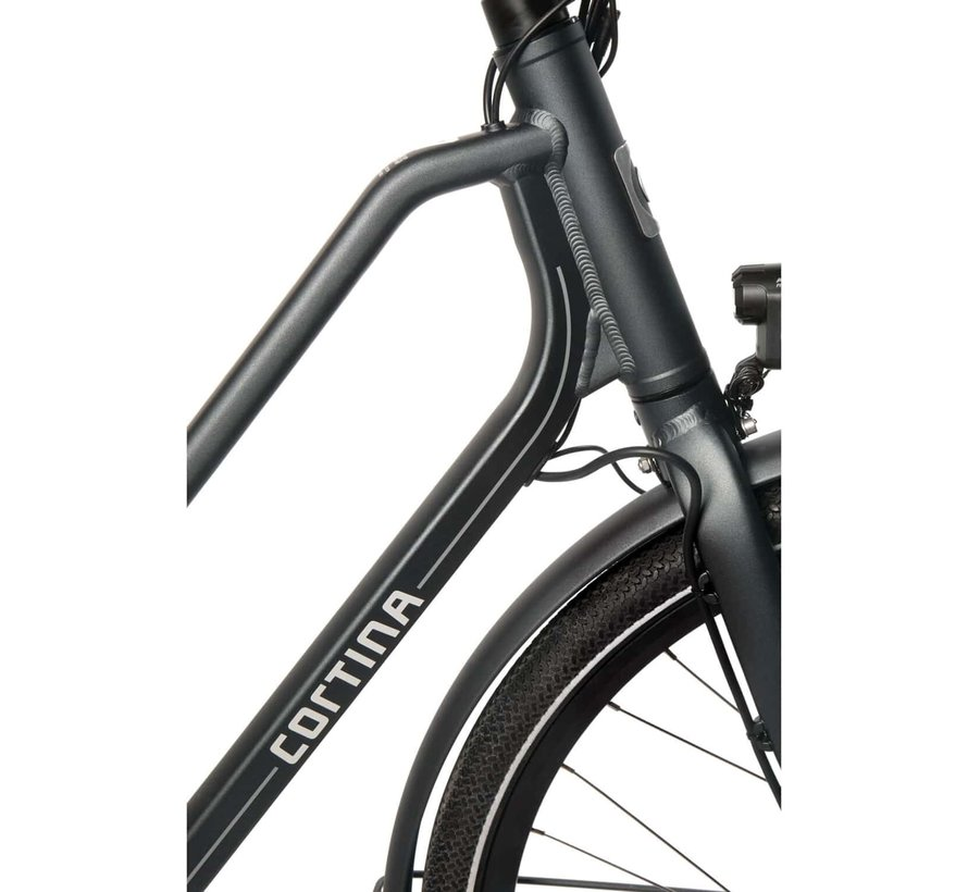 E-Foss elektrische fiets 8V Slate Grey Matt