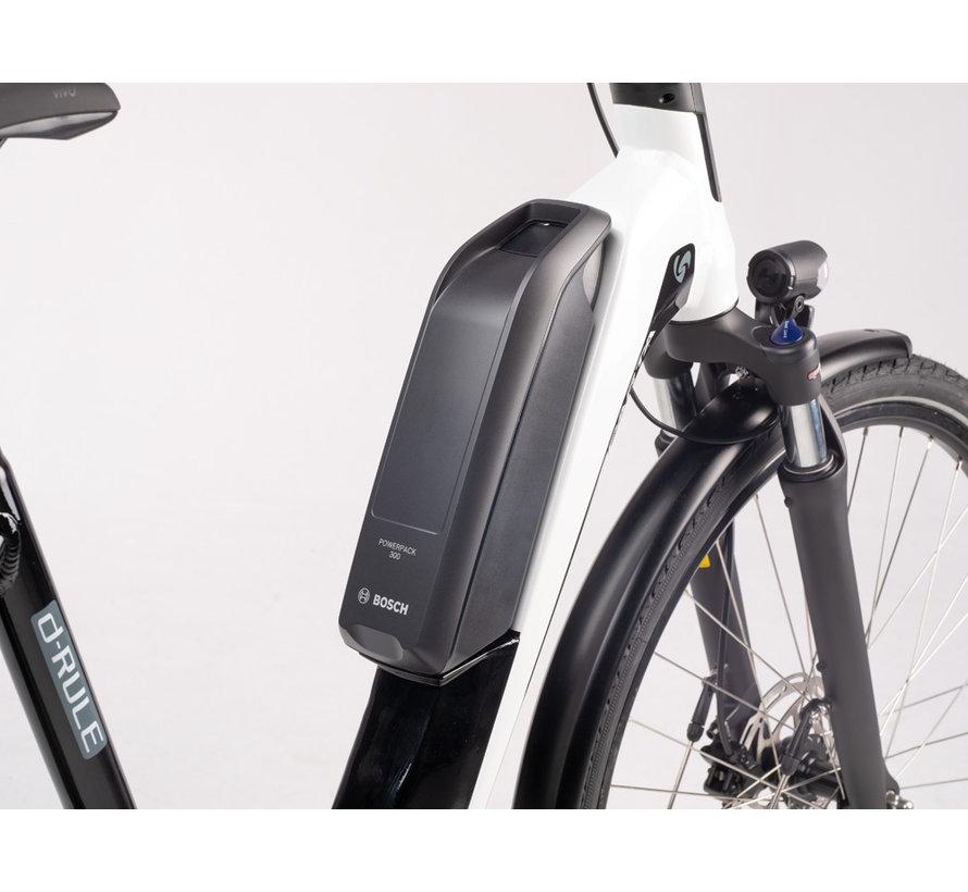 d-Rule M8TB Smart elektrische fiets 8V Mat Zwart