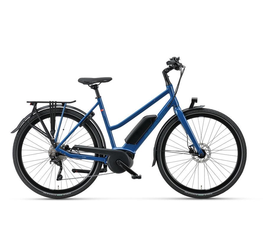 Dinsdag E-go Sport elektrische fiets  10V Mat Blauw