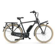 Batavus  Quip Extra Cargo elektrische fiets 7V Mat Zwart