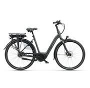 Batavus  Finez E-go Exclusive elektrische fiets 7V Smokingzwart