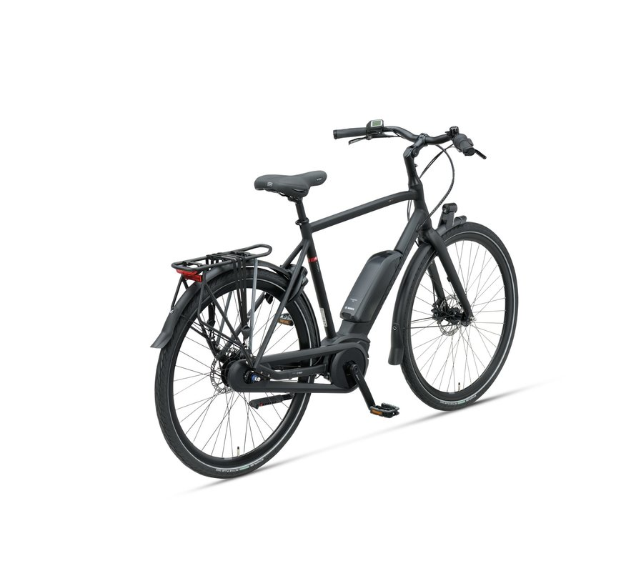 Dinsdag E-go elektrische fiets 7V Mat Zwart