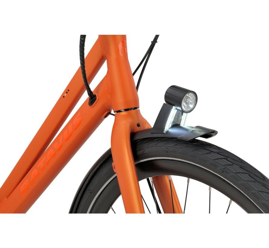 Dinsdag E-go elektrische fiets 7V Oranje - Classic