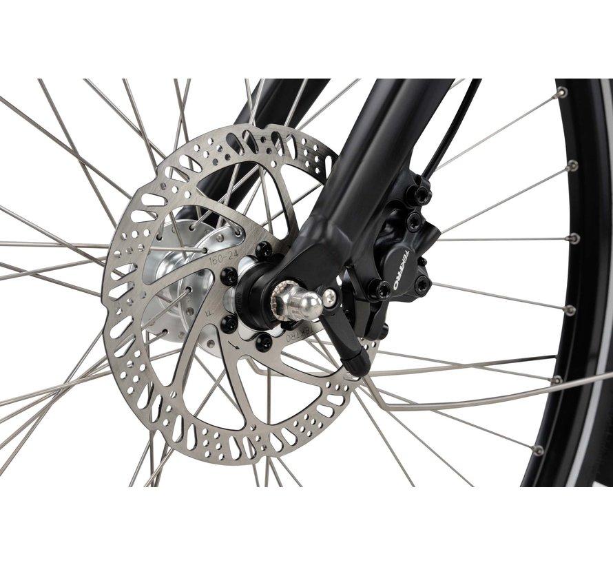 a-Shine M10b elektrische fiets 10V Mat Zwart