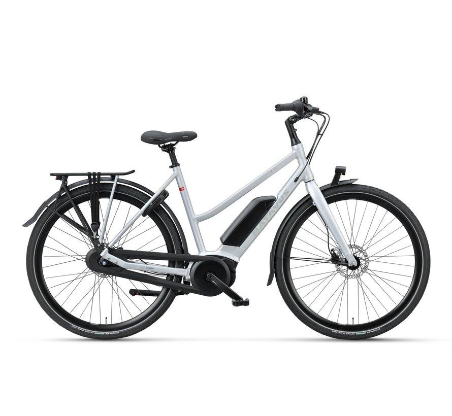 Dinsdag E-go elektrische fiets 7V Mat Zilver