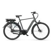 Batavus  Finez E-go Exclusive elektrische fiets 7V Smokingzwart - Belt