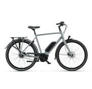Batavus  Dinsdag Exclusive elektrische fiets 7V Avondgrijs - Belt