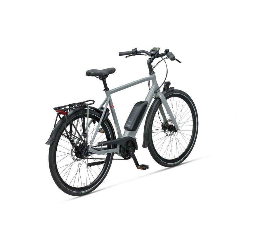 Dinsdag Exclusive elektrische fiets 7V Avondgrijs - Belt