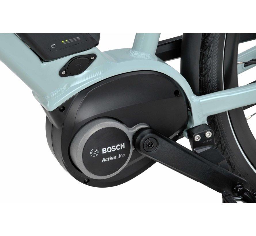 Dinsdag elektrische fiets 7V Turquoise