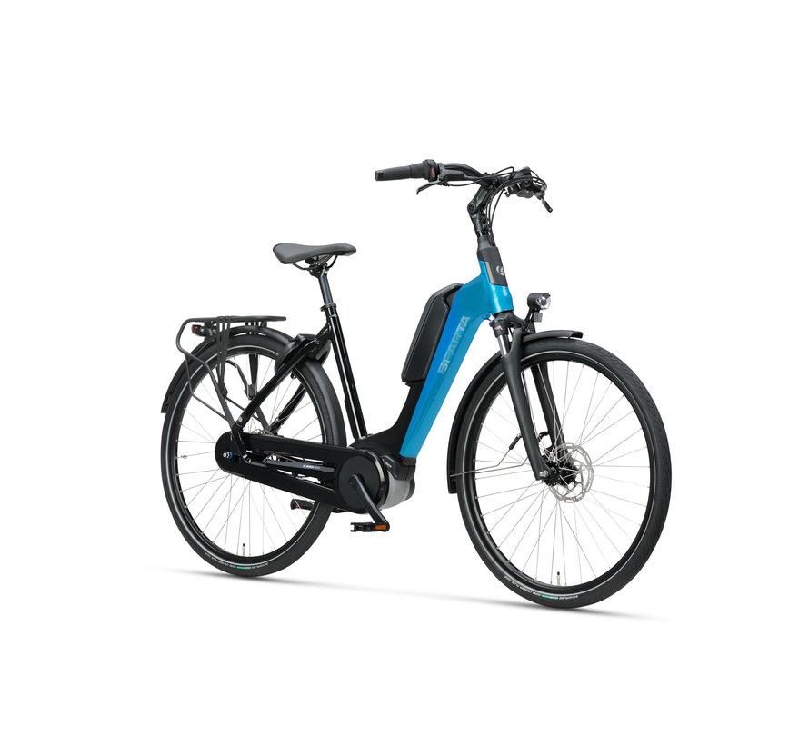 d-Rule M7Tb elektrische fiets 7V Zwart Turqoise