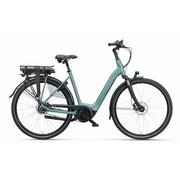 Batavus  Finez elektrische fiets Belt 7V Petrol Zilver Mat - Exclusive
