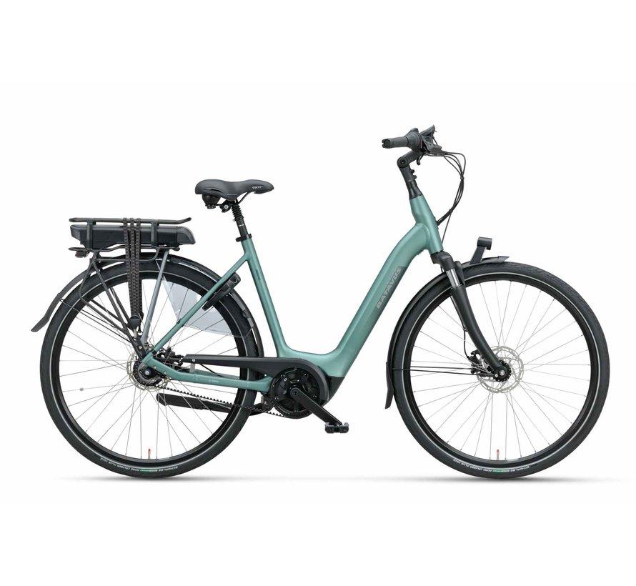 Finez elektrische fiets Belt 7V Petrol Zilver Mat - Exclusive