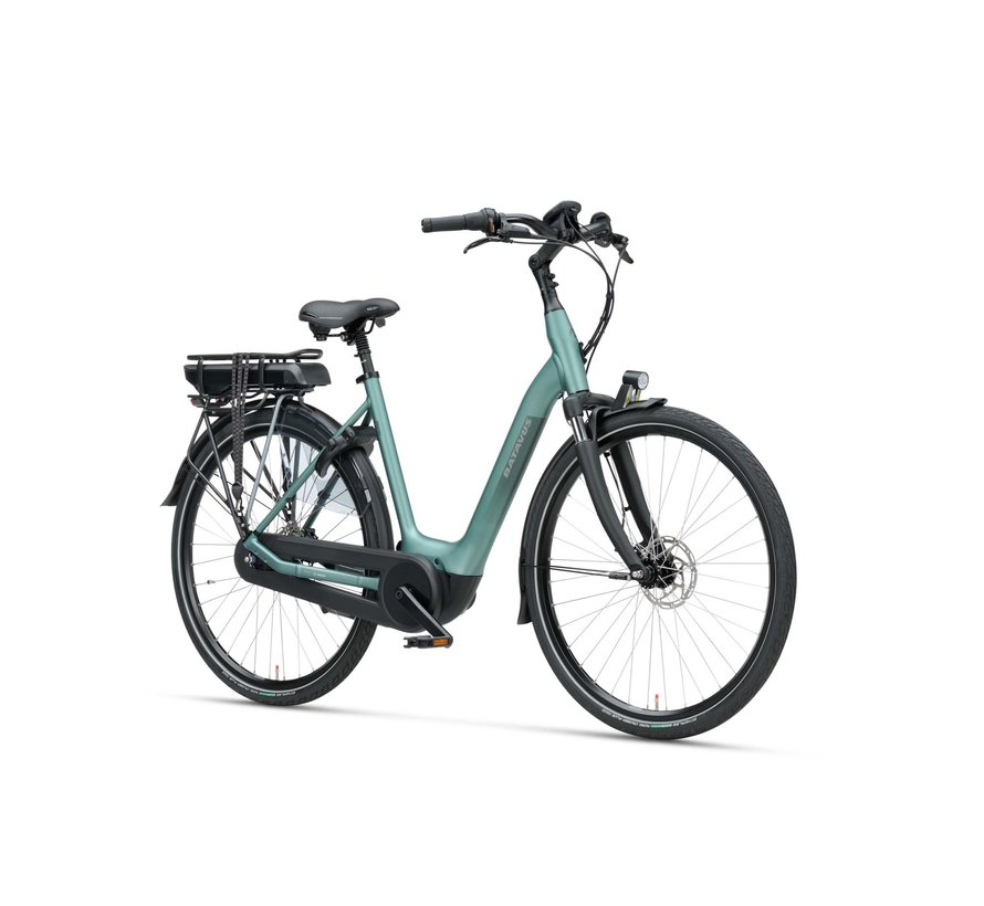 Finez elektrische fiets Active Plus 7V Petrol Zilver