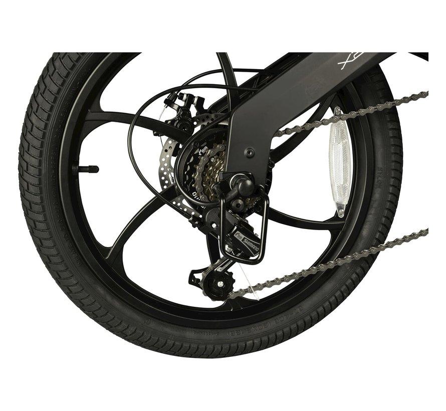 X200 elektrische vouwfiets 20 inch Zwart