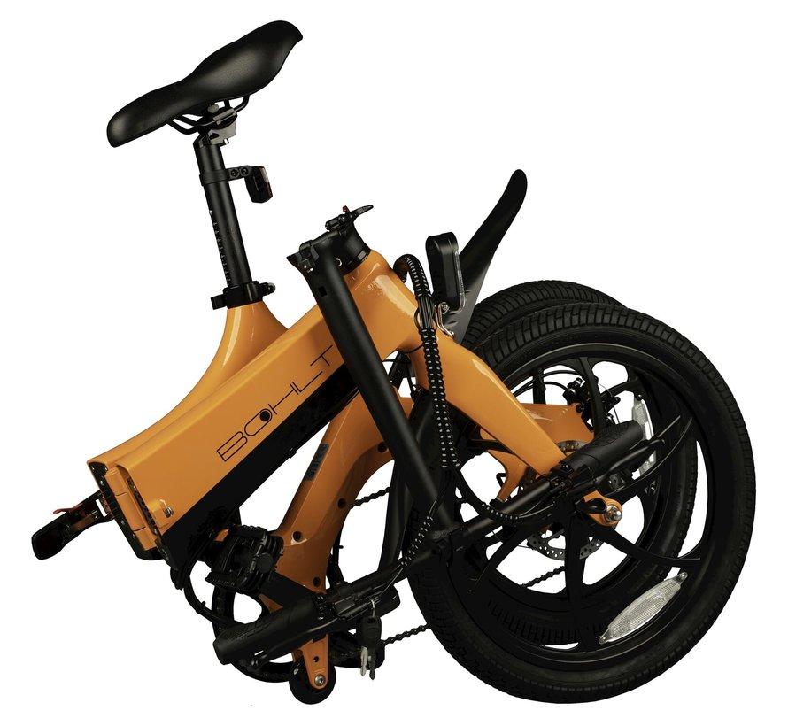 X200 elektrische vouwfiets 20 inch Oranje 6V