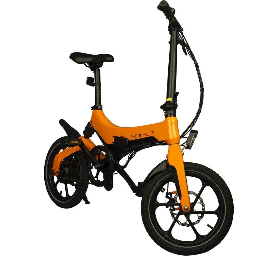 X160 elektrische vouwfiets 16 inch Oranje