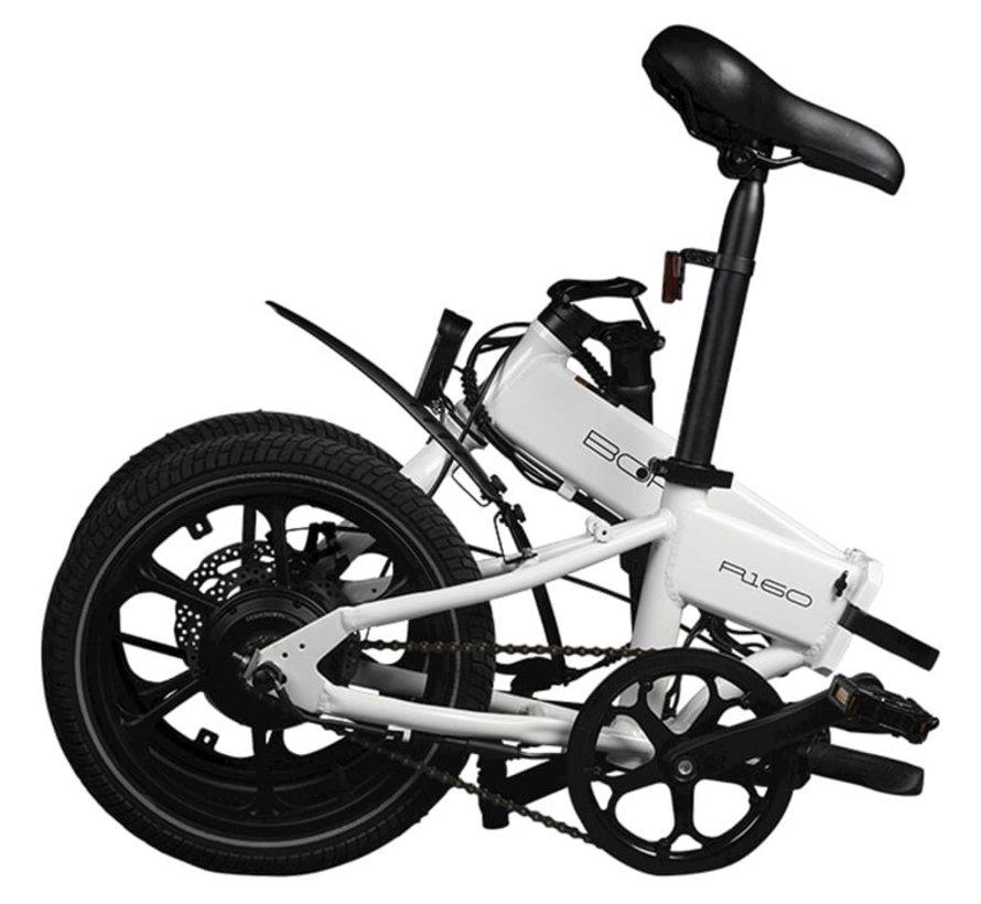 R160 elektrische vouwfiets Wit