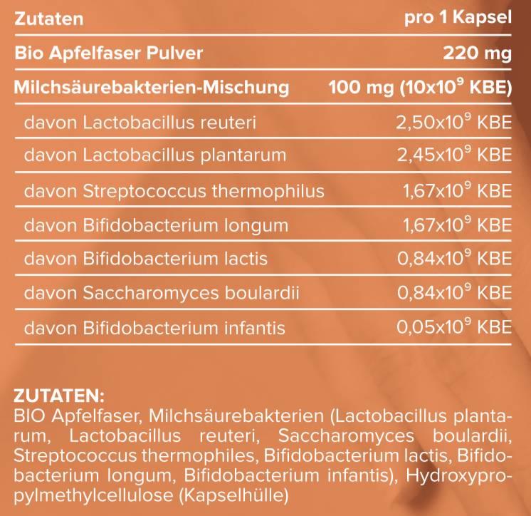 edubily BIO Probiotika Kapseln