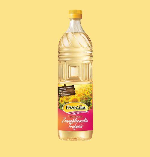 Faja Lobi Premium Zonnebloemolie Trafasie 1 L
