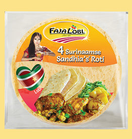 Faja Lobi Sandhia's Roti (4 stuks) 200 gram