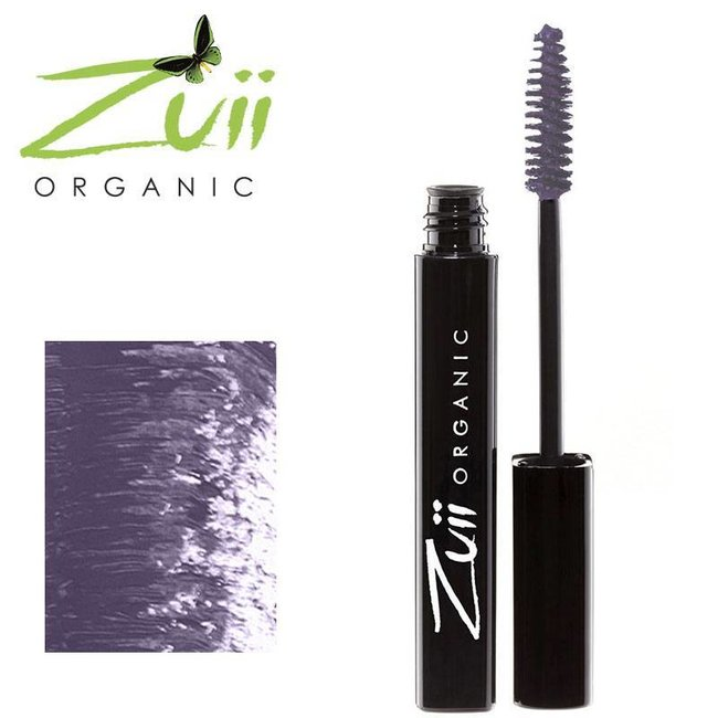 Zuii Organic Parfumvrije paarse mascara
