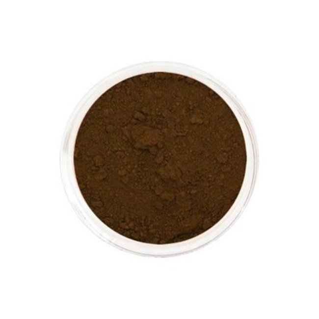 Pavèz Parfumvrij mineraal eyelinerpoeder bruin