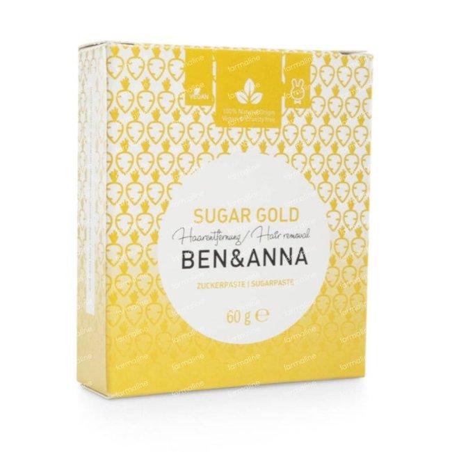 Ben & Anna Ontharingpasta Sugar Gold