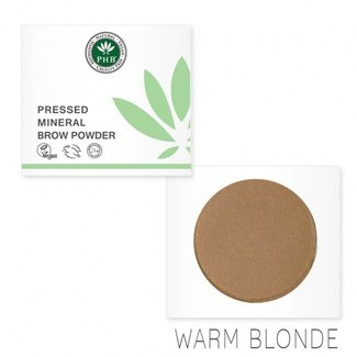 PHB Ethical Beauty Wenkbrauwpoeder Warm Blonde