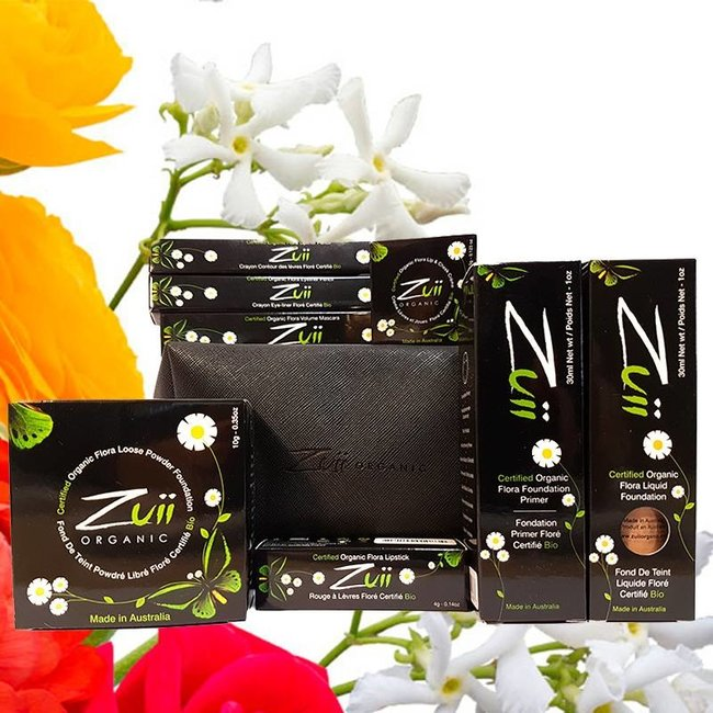 Zuii Organic Beauty Bag ♥ Dark