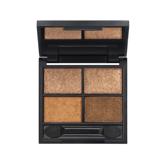 Zuii Organic Metallic Quad Eyeshadow Palette Sierra