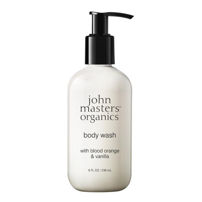 John Masters Organics Natuurlijke bodywash Blood Orange & Bourbon Vanilla