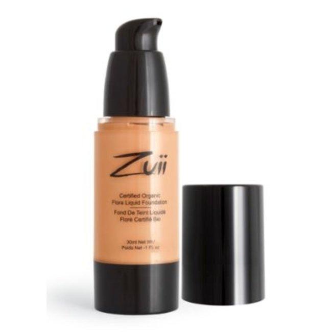 Zuii Organic Parfumvrije vloeibare foundation Olive Neutral