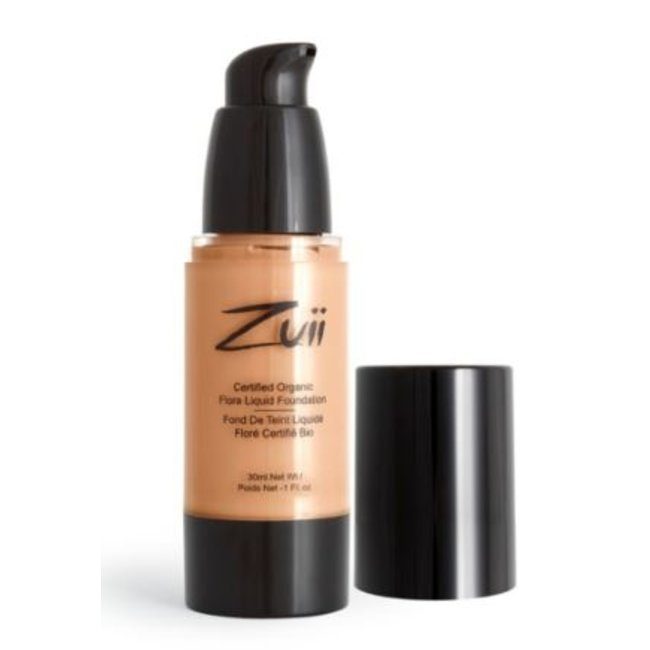Zuii Organic Parfumvrije vloeibare foundation Natural Bisque