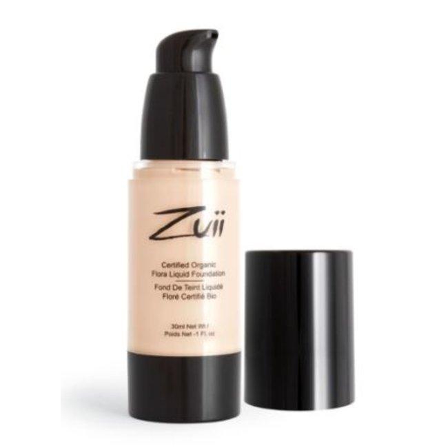 Zuii Organic Parfumvrije vloeibare foundation Olive Light