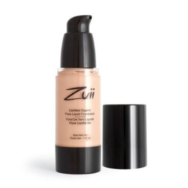 Zuii Organic Parfumvrije vloeibare foundation Beige Fair