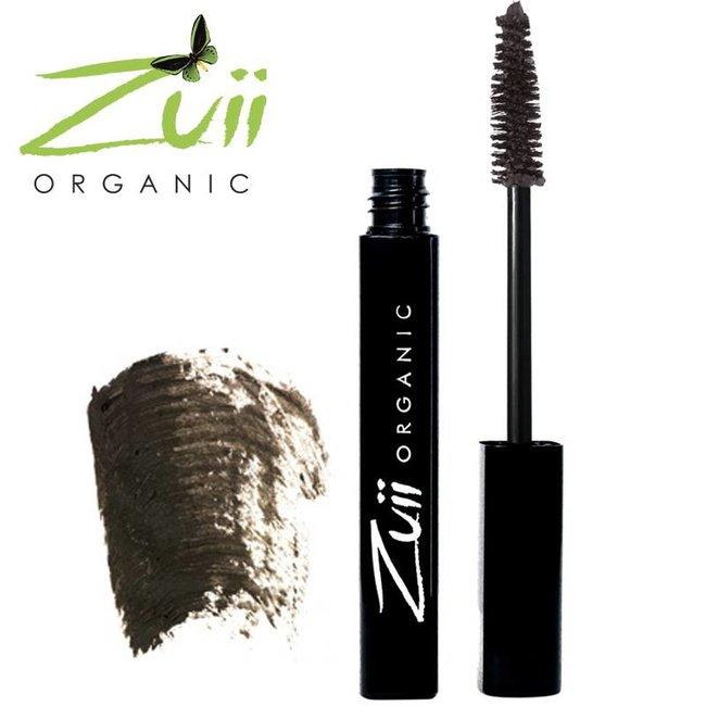 Zuii Organic Parfumvrije zwartbruine mascara