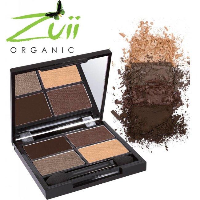 Zuii Organic Parfumvrij oogschaduwpalet Quad Natural