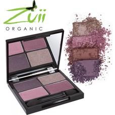 Zuii Organic Quad Eyeshadow Palette Passion