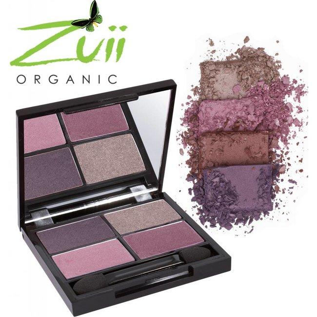 Zuii Organic Parfumvrij oogschaduwpalet Quad Passsion