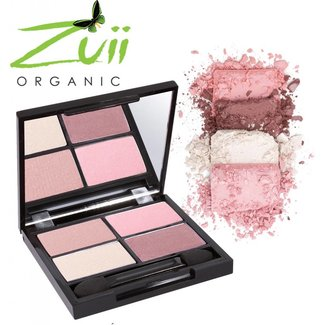 Zuii Organic Quad Eyeshadow Palette Summer