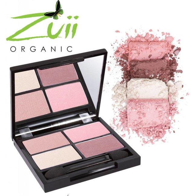 Zuii Organic Parfumvrij oogschaduwpalet Quad Summer