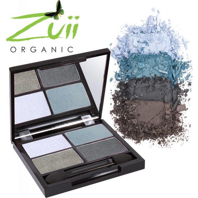 Zuii Organic Parfumvrij oogschaduwpalet Quad Wave