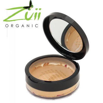 Zuii Organic Parfumvrij poederfoundation Oak