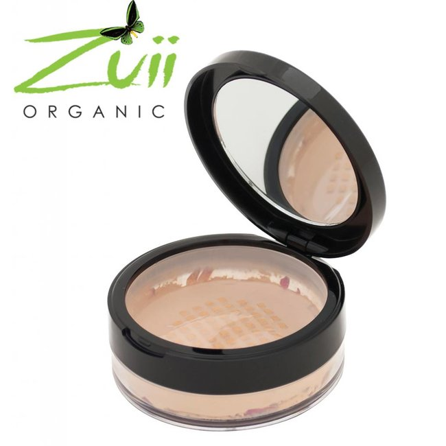 Zuii Organic Parfumvrij poederfoundation Buff