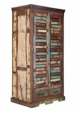 massiv Holz Kleiderschrank Altholz
