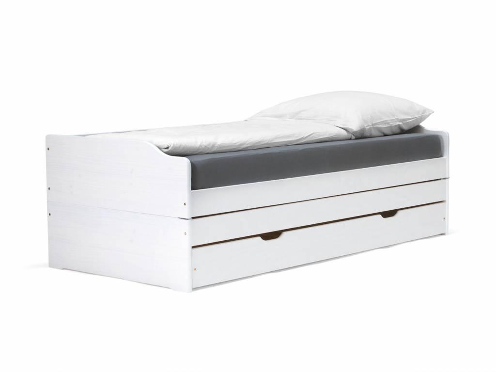 Bett Tagesbett Funktionsbett für 3 Personen